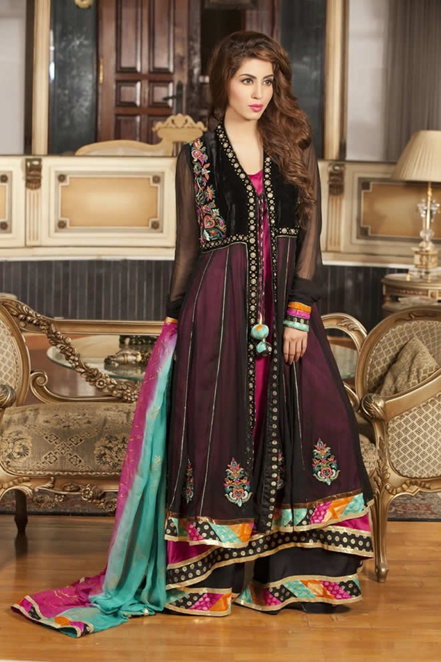 New fashion clothes dress in pakistani