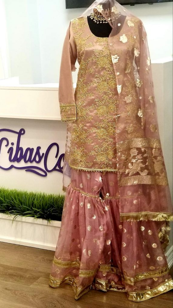 Gharara dress